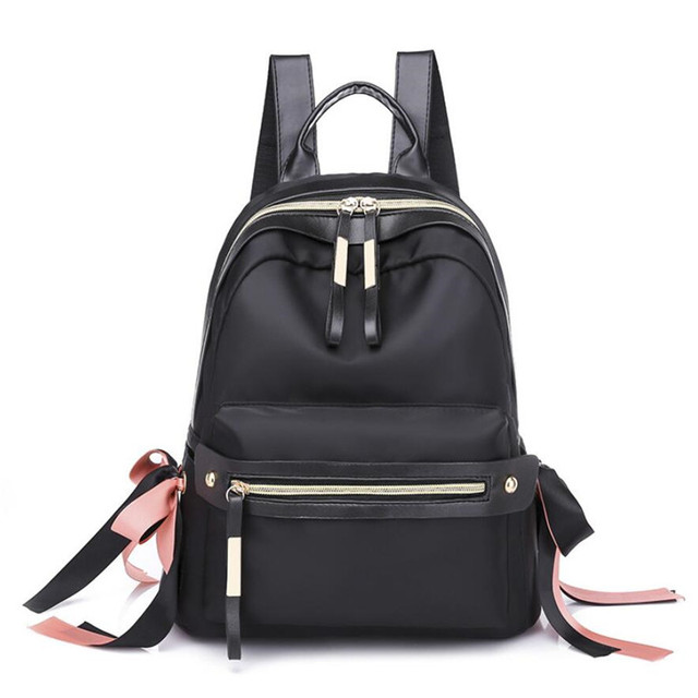 School Oxford cloth Backpack for Teenage Girl Women Backpacks Nylon  Waterproof Casual Laptop Bag pack Female Travel Bags 9f0a3cdb2a9c3