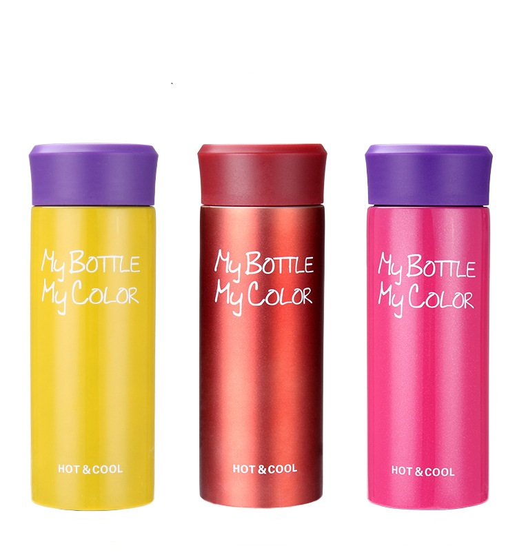 1PC Coffee Cup Double Wall Stainless Steel Mug Womens mens Travel Tumbler Vacuum Flask Thermos cup for lovers KD 1477