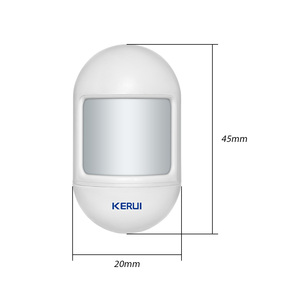 Image 5 - KERUI Wireless Mini PIR Motion Sensor Alarm Detector With magnetic swivel base For G18 W18 Home Security Alarm System