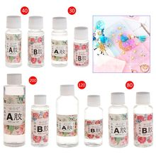 AB Glue Epoxy Resin Adhesive For DIY Jewelry Making Tools 30g/40g/80g/120g/200g Jewelry Tools & Equipments resin epoxy high adhesive 3 1 ab glue white for diy jewelry making