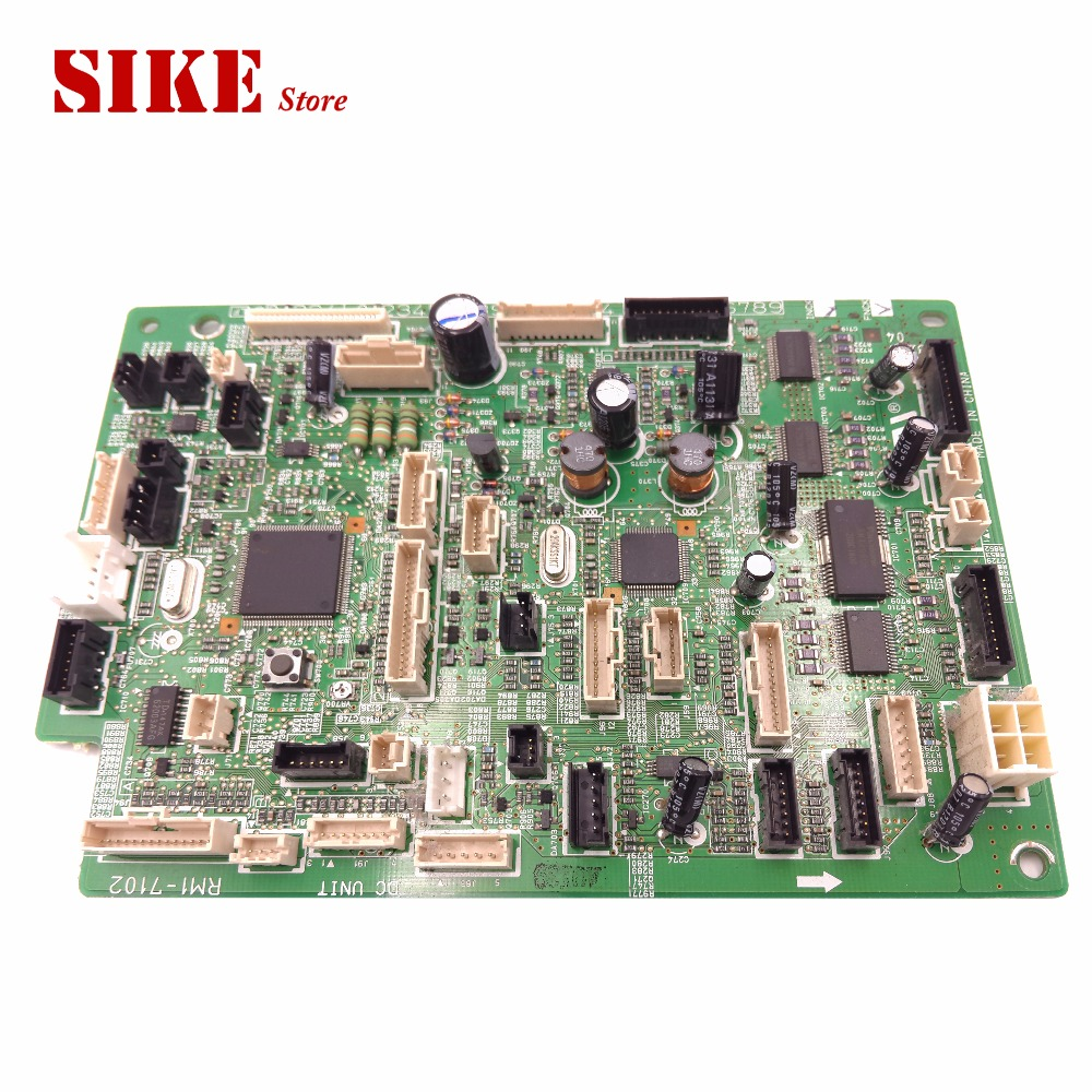 LaserJet Printer DC Control Board For HP M4555 4555 RM1-7102 HP4555 DC Controller Board cs 7553xu toner laserjet printer laser cartridge for hp q7553x q5949x q7553 q5949 q 7553x 7553 5949x 5949 53x 49x bk 7k pages