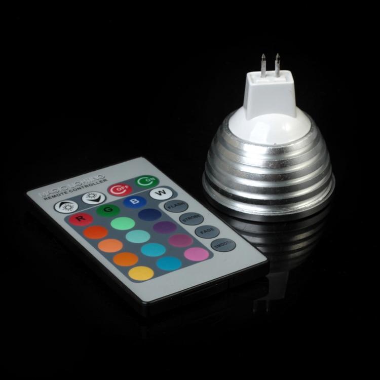Levou Holofotes iluminação led lâmpada com controle Switch Tipo : Remote Control