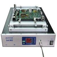 AOYUE Solder Station 220V AOYUE 883 IR Table Preheater Reball Reflow Station Quartz heating plate 310*310 1500W