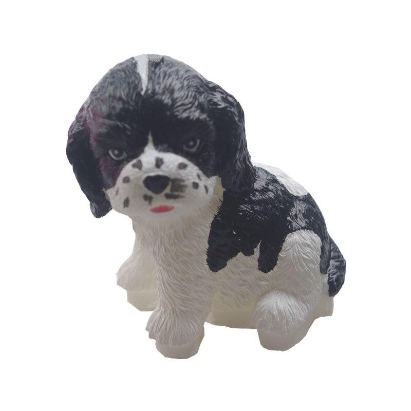 Q-875 Petit chien silicone moule livraison gratuite gâteau moule savon moule