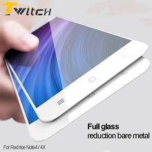 Twitch For Xiaomi Redmi Note 4X Redmi Note4 Tempered Glass Full Cover Protective Screen Protector Film
