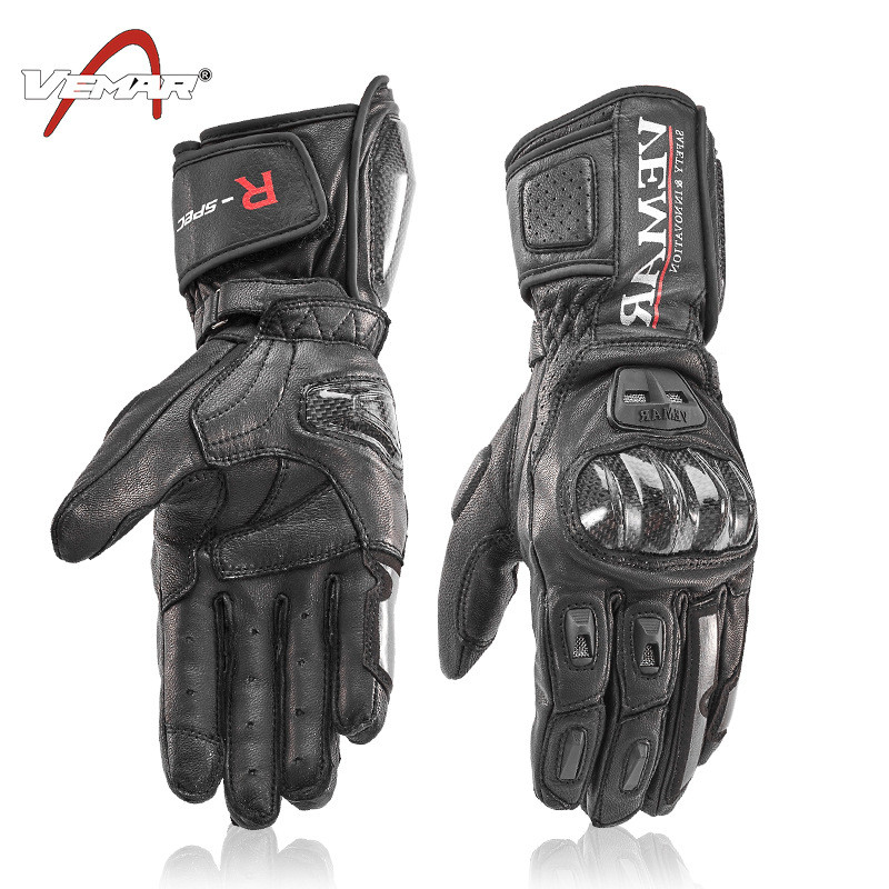 Carbon Fiber Motorcycle Gloves Leather Glove Men Cycling Racing Guantes Moto Motorbike Luvas BMX Downhill Mountain Bike Gloves hot sale motorcycle gloves motorbike moto luvas motociclismo para guantes motocross 01c motociclista women men racing gloves