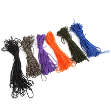 100FT 550LB Outdoor Camping Hiking Survival Paracord Parachute Cord Rope 7 Strand Core String Tie Down Lanyard Outdoor Tool paracord 550 rope type iii 7 stand 100ft paracord parachute cord outdoor camping survival kit wholesale