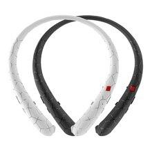 Fone de Ouvido Bluetooth Neckband fone de Ouvido Fones de Ouvido Retráteis Esporte Fones De Ouvido Sem Fio Fones de Ouvido Bluetooth Estéreo com Microfone Para iphone xiaomi