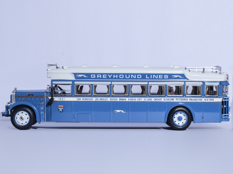 ICONIC REPLICAS 1/50 Geryhoud Bus Line 1931 Mack6-BK-3S Motorcoach Diecast Model 704201 000 [ data bus components dk 621 0438 3s]