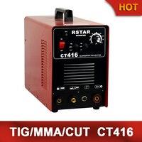 2014-Tempo limitado Oferta Especial Freeshipping Plasma Solda Ct416 Arc tig + + Máquina de Solda de Corte plasma