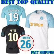b0577428b 2019 Marseille camisa de futebol adulto jersey PAYET L. GUSTAVO THAUVIN  camisa DOS HOMENS 18 19 adultos T-shirt camisa olympique.