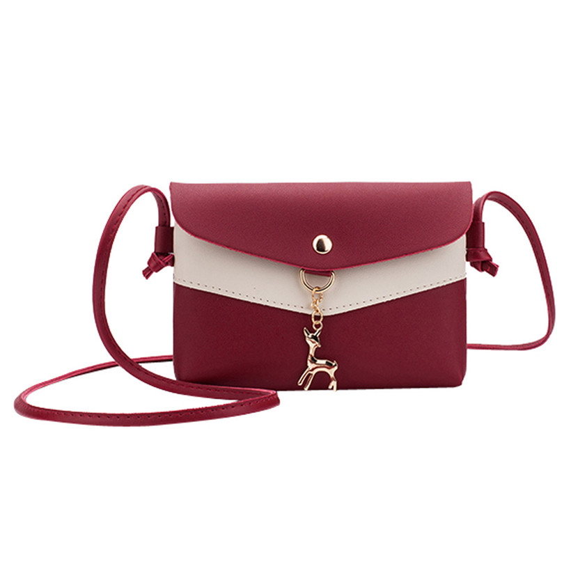 PU Leather Women Messenger Bags Female Handbags Ladies Shoulder Bag Fashion Party Envelope Cross-body Bag Evening Clutch Mochila