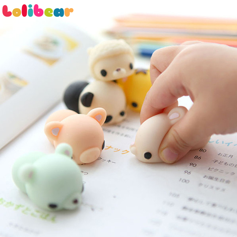 Kawaii Squishy Cute Lazy Cats Panda Seal Mini Decompress Slow Rising Squishy Clever Soft Hand Pinch Antistress Kid Gifts