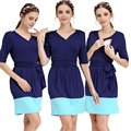 Emoção mães moda outono verão gravidez maternidade roupas de enfermagem modal grávida dress para as mulheres grávidas vestidos de maternidade