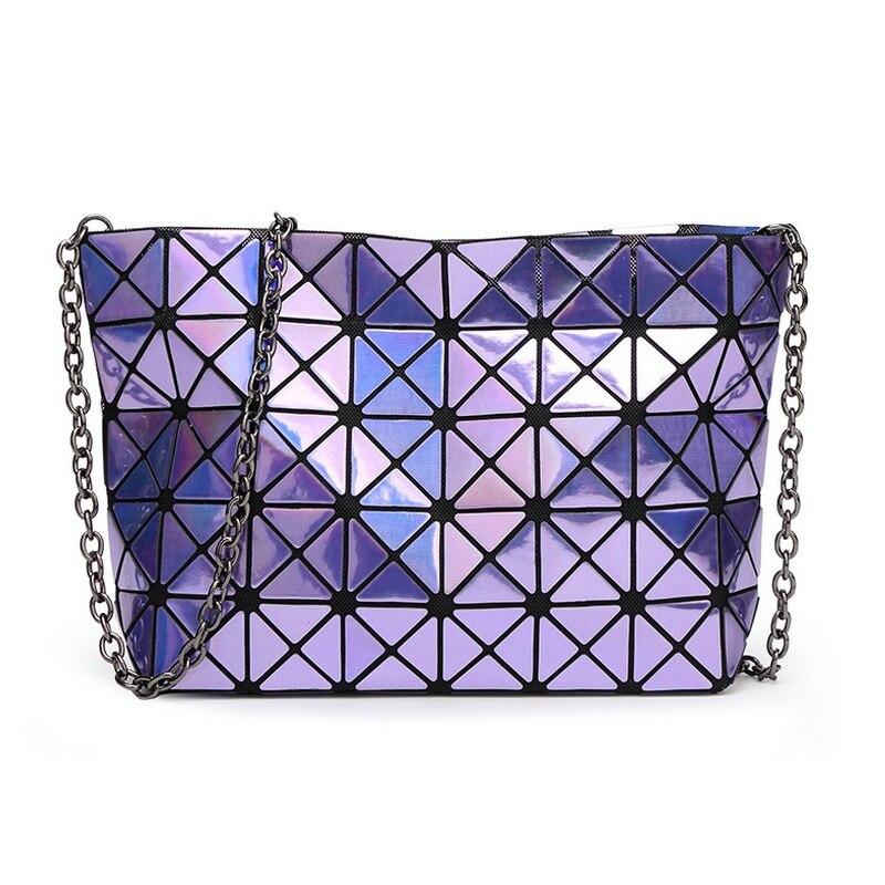 Diseñador Señora Cadena Diamond Lattice Bolsos Embragues del día - Bolsos - foto 2