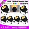 6pcs Lot High Power LED Par Light COB 200W COB UV Color Warm White Color China