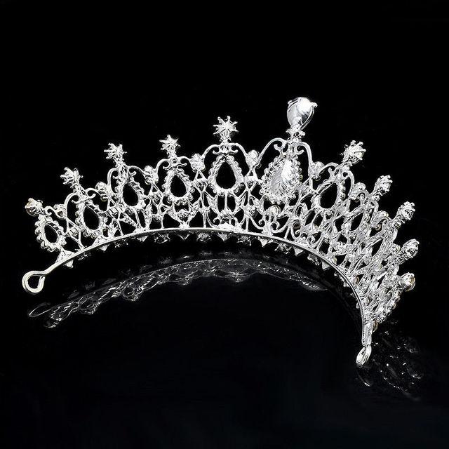 Luxury Crystal Embedded Tiara