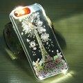 Для iPhone 5 Световой Call-мигающий Телефон Твердый Переплет для Apple IPHONE 5 5S 5G SE Прохладный Ультратонких Clear Light Protective Case