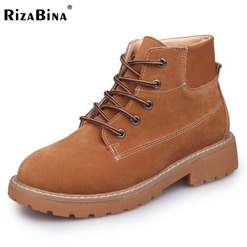 RizaBina Women Ankel font b Boots b font Cross Strap Round Toe High Heel font b