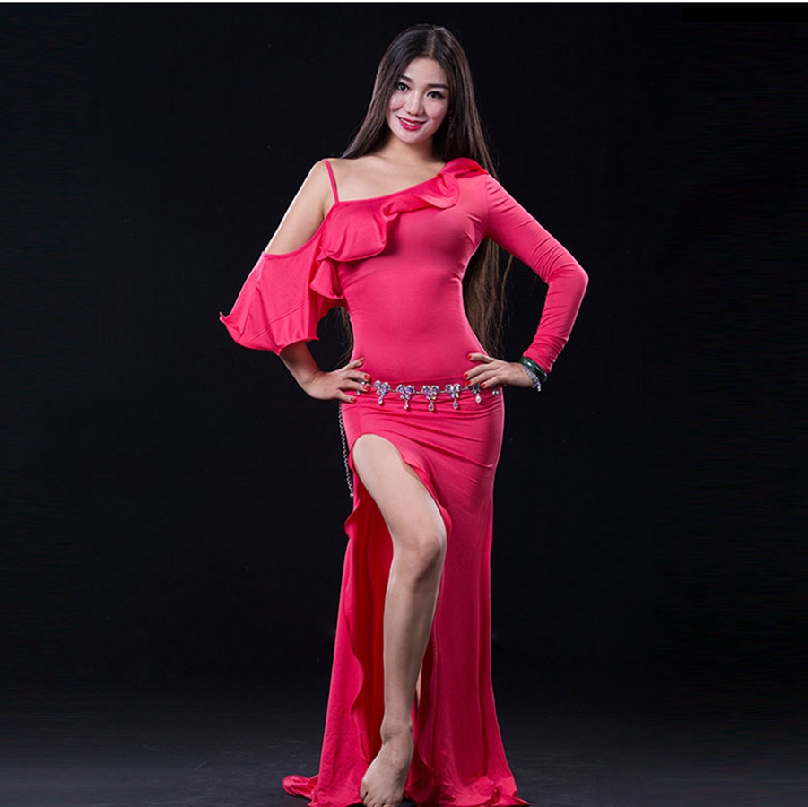 Picture of 2016 Sale Cotton Bellydance For Oriental Dance Costumes Wuchieal Brand 2017 New Women Belly Dance Costumes Dress Oriental 2638