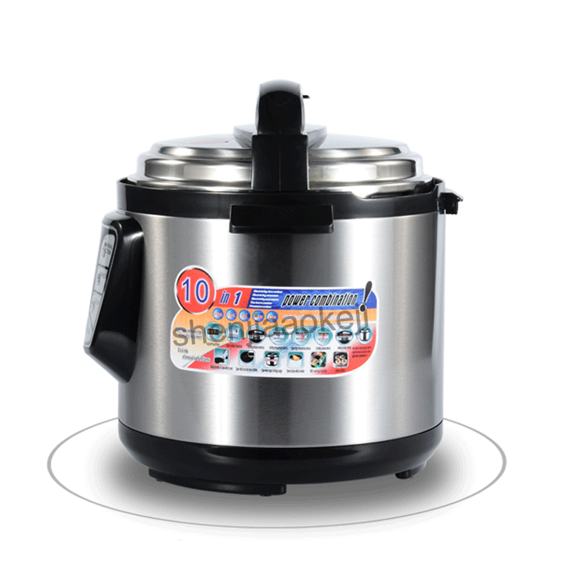 Multi-function high pressure pot Multifunction Electric Pressure Cooker smart household 6L large capacity 5-6 people automatic multi function high pressure pot multifunction electric pressure cooker smart household 6l large capacity 5 6 people automatic