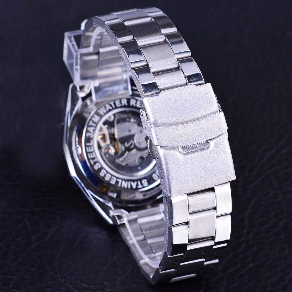 Forsining Μηχανική Steampunk Σχεδιασμός Μόδα - Ανδρικά ρολόγια - Φωτογραφία 5