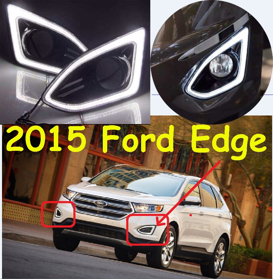 For Edge daytime light;2011~2014/2015~2016,Free ship!LED,Edge fog light,ecosport,fusion;Edge edge clothing edge clothing ed006ewhst72