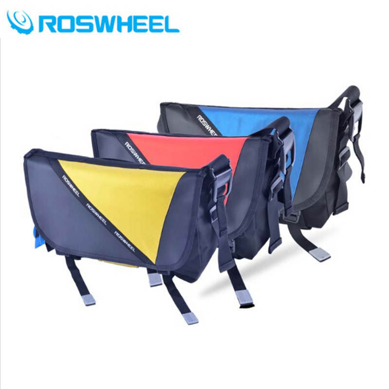 ROSWHEEL Cycling Bag Bicycle Bike Ciclismo Riding Travel Outdoor Pouch Waterproof Messenger Bag Shoulder Bag