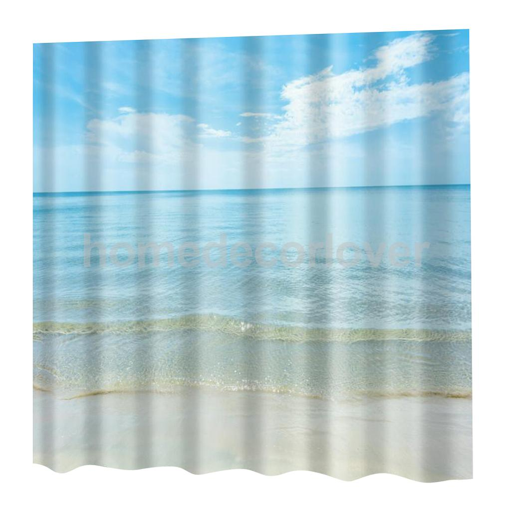 Us 15 18 23 Off Modern Novelty Bathroom Shower Curtain With 12 Hooks Decor 180cm X 180cm 10 Designs In Shower Curtains From Home Garden On