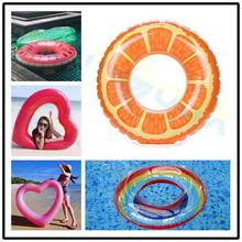 Beach Water Inflatable Doughnut Swimming Rings laps Giant Pool party Adult kid toys Lifebuoy Float Mattress Swimming Circle 1 4m giant inflatable doughnut pool float toy swimming ring mattress adult kids beach water family party water pool toys