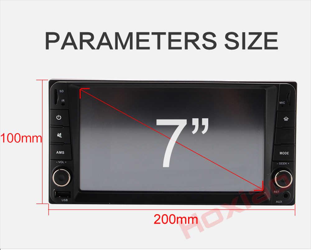 2din 車 MP5 no DVD プレーヤー 20*10 センチ Bluetooth 7 インチタッチスクリーン SD FM MP4 USB 200*100 ミリメートル 2 喧騒 Autoradio カーラジオ