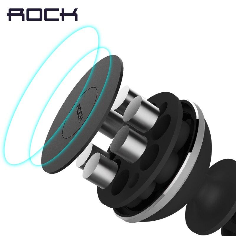 Rock Magnetic Car Phone Holder Mini Air Vent Outlet Mount