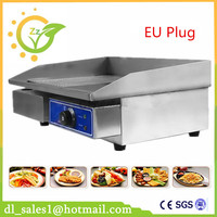 Restaurant Equipment For Sale Commercial Thermostat Electric Griddle Machine Commercial Electric Contact Grill