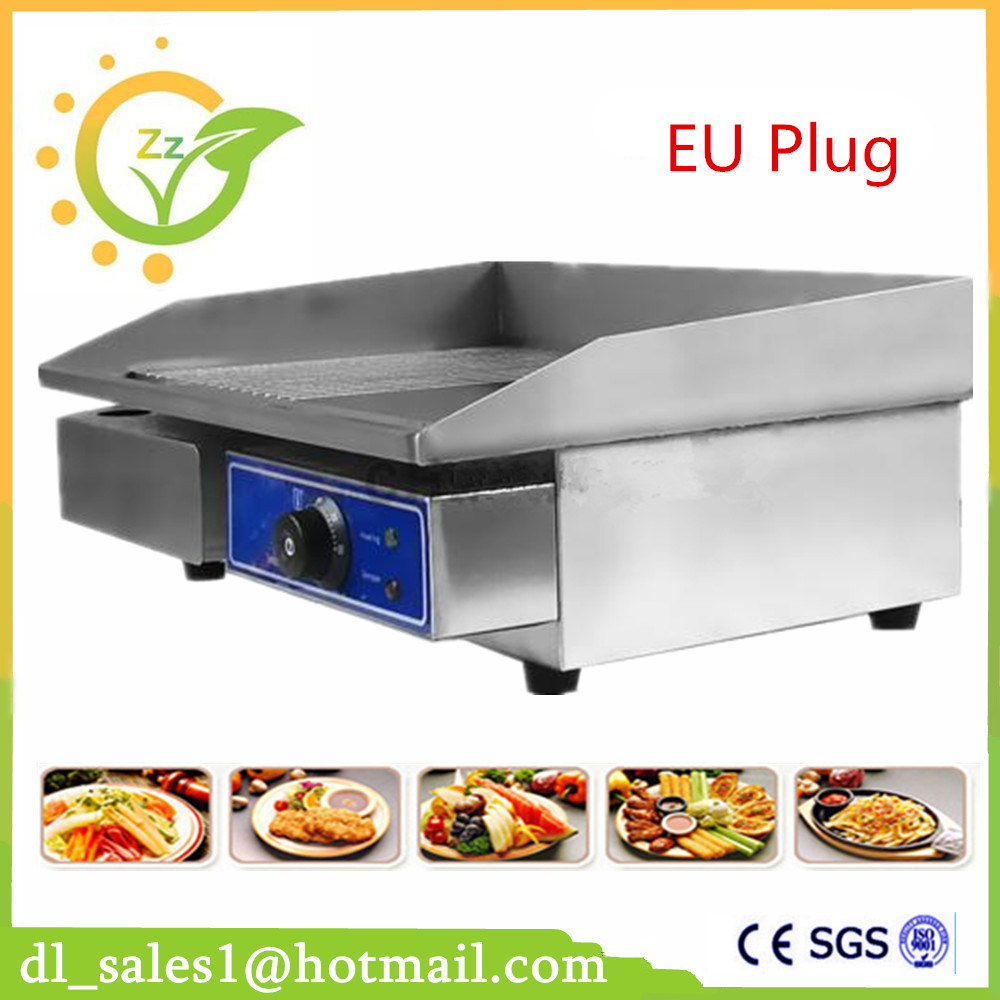 Restaurant equipment for sale commercial Thermostat electric griddle machine/commercial electric contact grill lacoste w15112620435