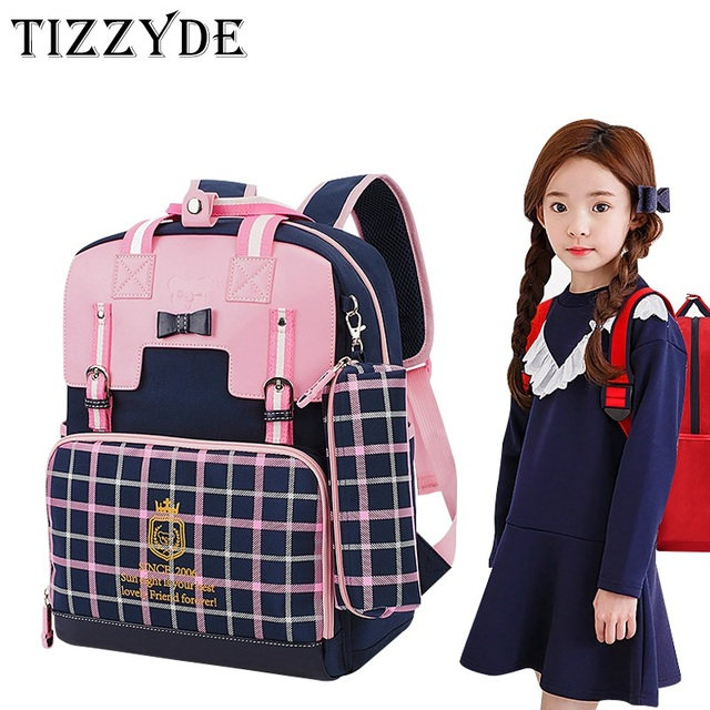 f6b9cf3cdb Cartoon School Backpack 2017 New Lattice 7-10 years old Children Boys And Girls  Lovely Cartoon Schoolbag Backpacks YSW325