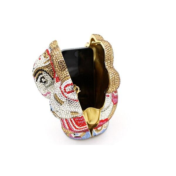 Sac Femmes D'or Style Or Simple Pur D'épaule Soirée Bandoulière Embrayage Main Dames Strass De À La En 100 Cristal New SrrOwq08F