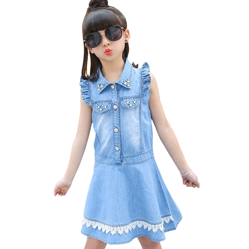 girls denim dress little girl dresses cotton big girls dresses 2018 summer teenagers kids clothes 34 5 6 7 8 9 10 11 to 12 yearsgirls denim dress little girl dresses cotton big girls dresses 2018 summer teenagers kids clothes 34 5 6 7 8 9 10 11 to 12 years