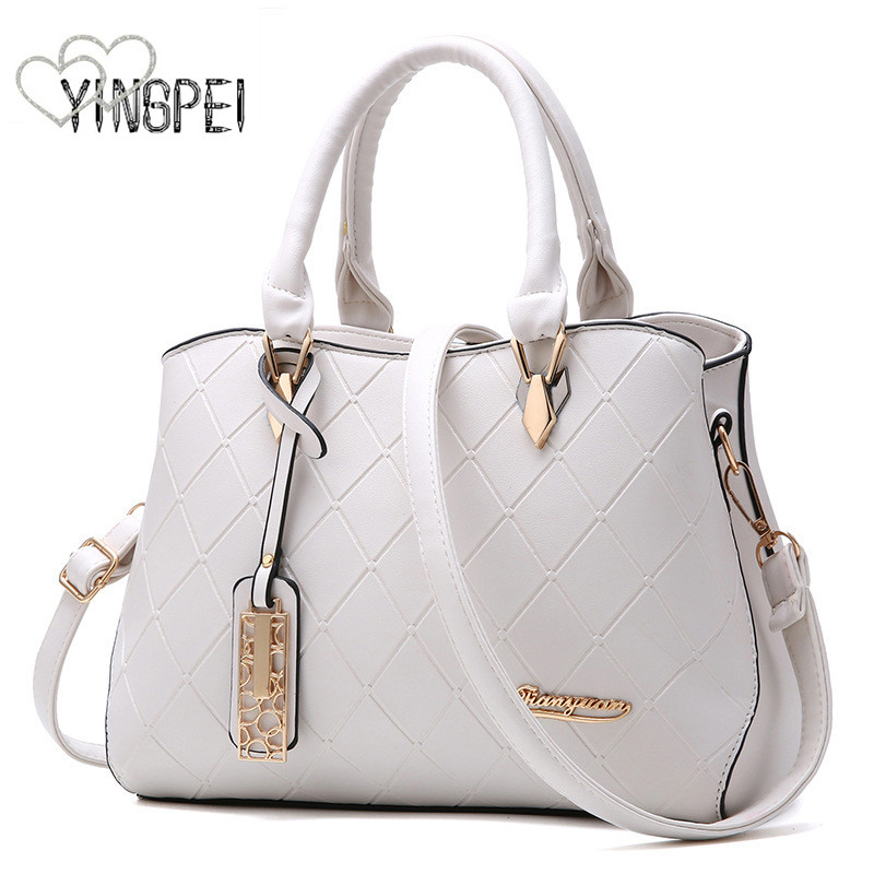 81a2a0153ab8 US $14.99 43% OFF|women bag Fashion Casual women's handbags Luxury handbag  Designer Shoulder bags new bags for women 2019 bolsos mujer black white-in  ...