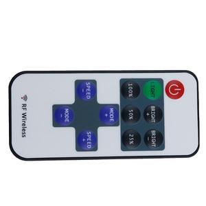 Image 3 - 1set Mini RF Wireless Remote  BLACK Led Dimmer Controller For Single Color Led Strip Light SMD5630 SMD5050 SMD3528 DC 5V 12V 24V