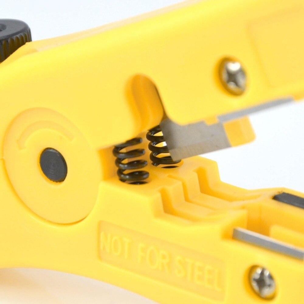 Hot Universal Cable Draht Jacke Stripper Mit Kabel Cutter Stripping Schere Streifen Außenmantel Der Utp Und Stp Kabel Zangen