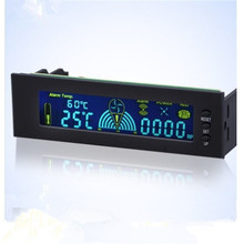 Brand New STW-5006 Computer Case Smart Fan Speed Controller Automatic Temperature Controller PVC Screen CPU Temperature Sensor