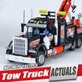 Lepin 20020 Technic Serie Ultimate La Mecánica Americana de Contenedores Pesados Camiones Blcoks construcción Ladrillos Juguetes Educativos