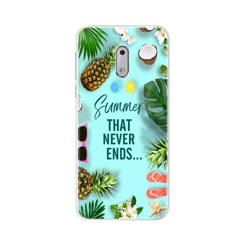 Case For Nokia 6 Case Cover Silicone Fundas For Nokia 6 Case TPU Soft Coque Capas Bumper For Phone Case Nokia 6 TA-1033 TA-1021