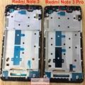 Novo para xiaomi redmi note 3/redmi note 3 Pro Tela LCD Apoio Quadro Oriente Painel Frontal Habitação Substituição partes
