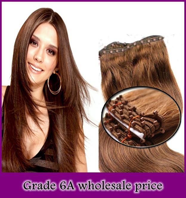 Wholesale Price Grade 6a100gpack Silk Striaht Micro Beads Sew In