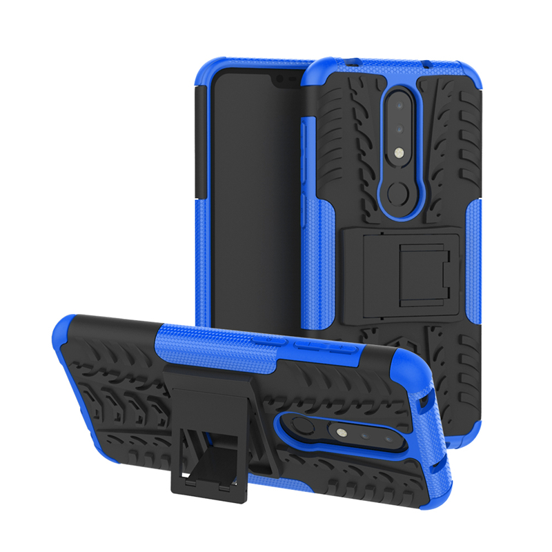For Nokia 6.1 Plus Case Heavy Duty Hard Rubber Silicone Phone Case Cover For Nokia X6 Case for Nokia 6.1 Plus Fundas Phone case