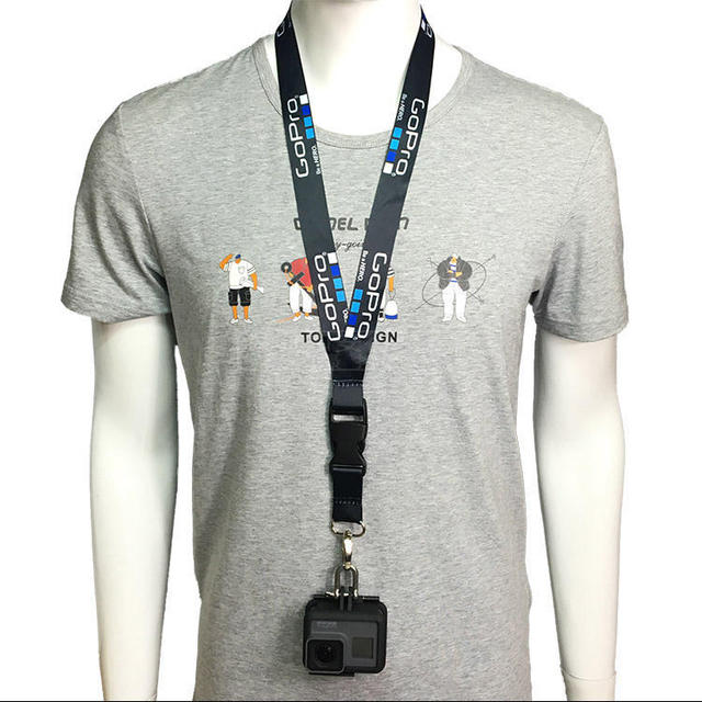 Accessories Neck Strap Lanyard Sling with Quick-released Buckle for GoPro7 6 5 5s 4 3+ 3 2 1 Action sports Camera 2