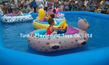 Good quality electronic control bumper boat,kids bumper boat,inflatable bumper boat