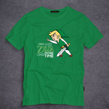 The Legend of Zelda T Shirt Call Me Zelda One More Time Mens Funny T-shirt Short Sleeve Tees Top S-5XL