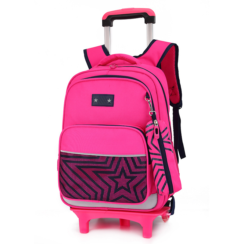 Removable Children School Bags Wheels bags Girls boys Trolley school Backpack Kids schoolbags Wheeled Bag Bookbag travel luggageRemovable Children School Bags Wheels bags Girls boys Trolley school Backpack Kids schoolbags Wheeled Bag Bookbag travel luggage